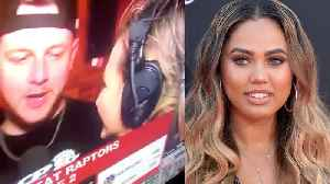 Raptors Fan Completely DISRESPECTS Ayesha Curry With GROSS Comment On LIVE TV! [Video]