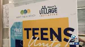 City hosts community program for teens in the north end of West Palm Beach [Video]