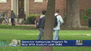 Governor Hogan Announces Program To Help With Student Loan Debt [Video]
