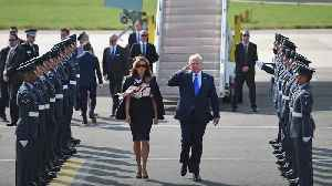 Donald Trump's UK visit: Day one in pictures [Video]