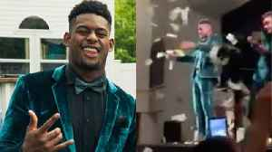 "Juju Smith-Schuster CRASHES HS Prom, Makes It RAIN & Starts 'F AB!"" Chant [Video]"