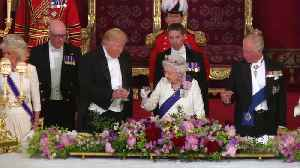 Donald Trump UK state visit: Day one round-up [Video]