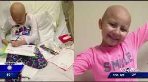 Local family reflects on love, support showed to them while their daughter battled cancer [Video]