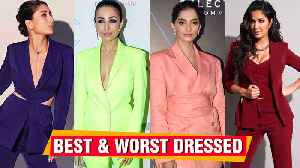 Sonam, Katrina, Malaika, Deepika, Kareena In Pant Suit | Best And Worst Dressed 2019 [Video]