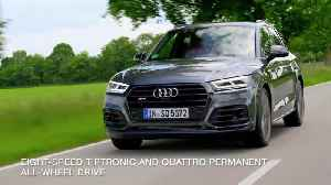 The new Audi SQ5 TDI - Instant performance thanks to electric powered compressor [Video]