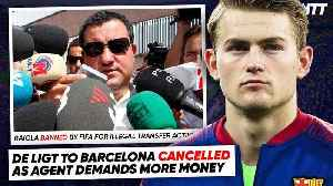 WE FOUND THE REASON DE LIGT WON'T SIGN FOR BARCELONA! | #WNTT [Video]