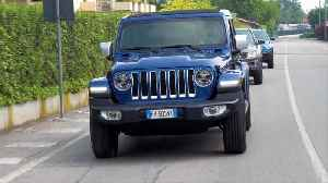 Jeep Wrangler On Road Driving [Video]
