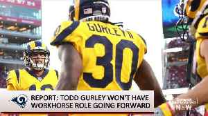 Report: Todd Gurley Won't Be 'Bell Cow' Running Back for Rams Going Forward [Video]