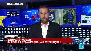 EU election night 2019 on France 24 part 2 [Video]