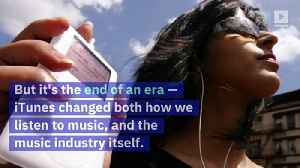 How iTunes Redefined the Way We Listen to Music [Video]