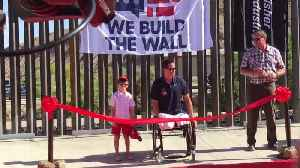 Ribbon-Cutting Ceremony for Wall in New Mexico [Video]