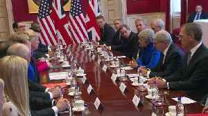 "Trump tells British PM: ""We'll have a very substantial trade deal"" [Video]"