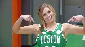 Hannah and Jed Hoop It Up with the Boston Celtics [Video]