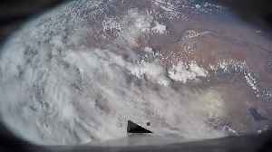 Onboard cameras captured incredible Earth view during rocket launch [Video]