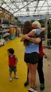 Daughter Surprises Mom at Work After Three Months Apart [Video]