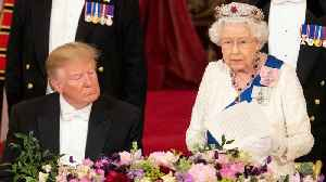 The Queen Digs At Trump's Attacks Right In His Face [Video]