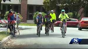 Day 2 of Aids-Lifecycle rides through Central Coast [Video]