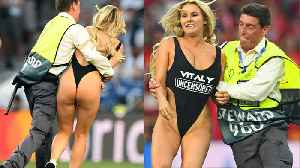 Smoking Hot Champions League Streaker Gains 2 Million Followers But Gets SUSPENDED By Instagram! [Video]
