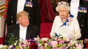 Queen stresses shared values as US President Trump visits UK [Video]