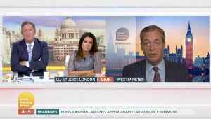 Nigel Farage Refuses To Support Or Condemn Ann Widdecombe's Comments [Video]