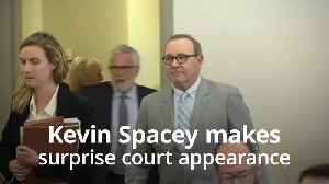 Kevin Spacey makes surprise court appearance over indecent assault and battery charges