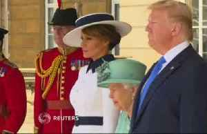 Trump's UK visit turns to Brexit, Huawei amid London protests [Video]