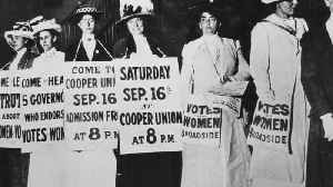 The Story of the American Women's Suffrage Movement [Video]