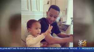 Chrissy Teigen, John Legend Hold 'Candy Court' With Daughter Luna [Video]
