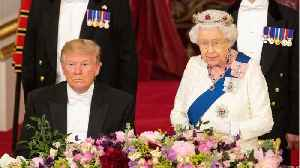 People Think Queen Elizabeth II Shaded Trump By Wearing A Tiara That's A 'Symbol Of Protection Against Illness And Evil' [Video]