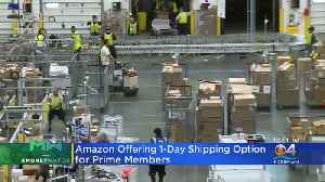 Amazon Kicks Off Free One-Day Shipping For Prime Members [Video]