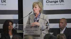 Change UK: Six MPs quit as Anna Soubry becomes leader [Video]