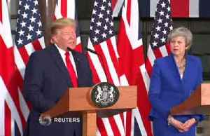 Trump's UK tour wades into Brexit fallout [Video]