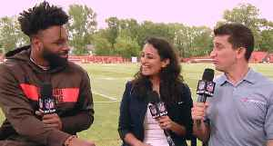 Jarvis Landry on Odell Beckham Jr. missing Cleveland Browns OTAs: He has plenty of time to build chemistry with Baker Mayfield [Video]