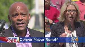 Denver Voters Cast Ballots For Runoff Election [Video]