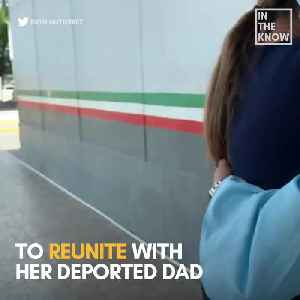 High school grad walks across the U.S.-Mexico border to reunite with deported dad [Video]