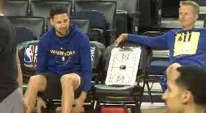 WARRIORS: Head Coach Steve Kerr on Durant and Thompson Injuries [Video]
