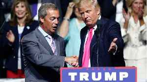 UK's Farage Says Trump Expressed Concern Over How Long Brexit Is Taking [Video]