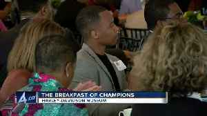 Local leaders recognized at Breakfast of Champions event [Video]