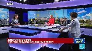 EU election night 2019 on France 24 part 1 [Video]