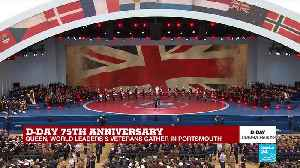 D-Day anniversary: Singer Sheridan Smith performs