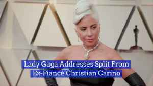 Lady Gaga Goes Back To Being Single [Video]