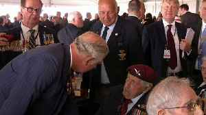 Prince Charles and Donald Trump meet veterans and families [Video]