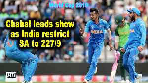 News video: World Cup 2019 | Chahal leads show as India restrict SA to 227/9