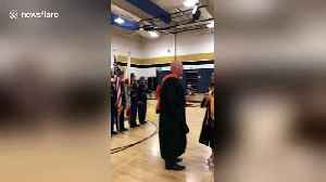 Soldier returns from military to surprise sister at graduation in Albuquerque [Video]