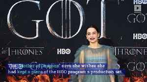 Emilia Clarke Reveals One Regret About Final 'Game of Thrones' Season [Video]