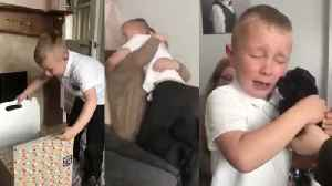 Bullied Boy Gets Puppy Surprise After School [Video]