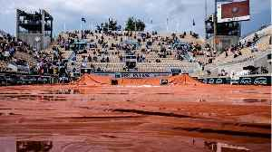 Rain Washes Out French Open Day [Video]