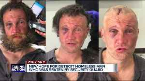 Homeless man assaulted in Detroit gets new opportunities with local nonprofit [Video]
