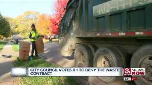 Omaha's City Council Votes to Deny Waste Management Contract [Video]