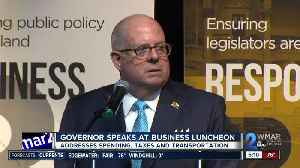 Maryland Governor Larry Hogan delivers 5th annual State of Business address [Video]